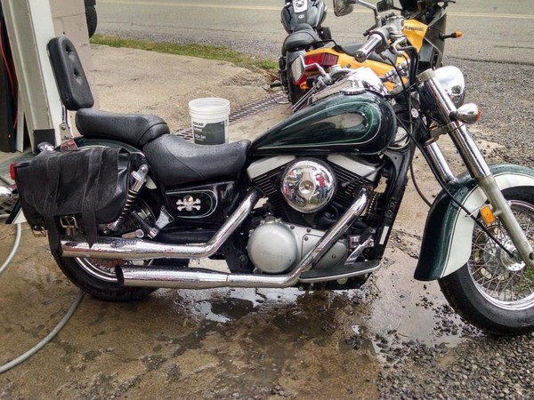 Фотогалерея мотоцикл Kawasaki Vulcan 1500 фото 9
