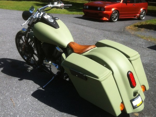 Фотогалерея мотоцикл Kawasaki Vulcan 1500 фото 10