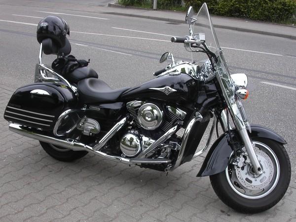 Фотогалерея мотоцикл Kawasaki Vulcan 1500 фото 2