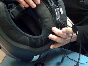 Мотогарнитура для шлема
