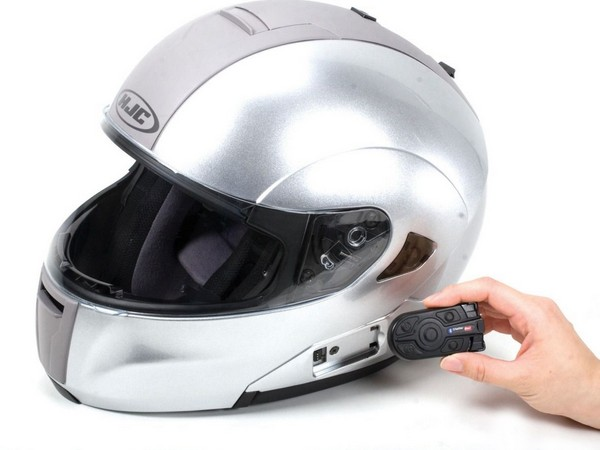 Фотогалерея мотогарнитуры для шлема фото - 4