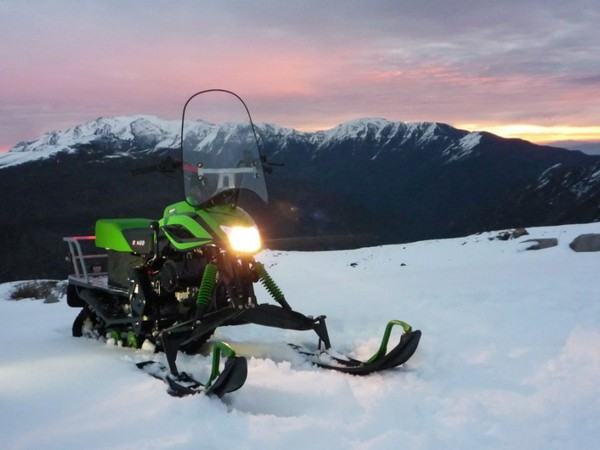 Фотогалерея Накладки на лыжи для снегохода фото 9