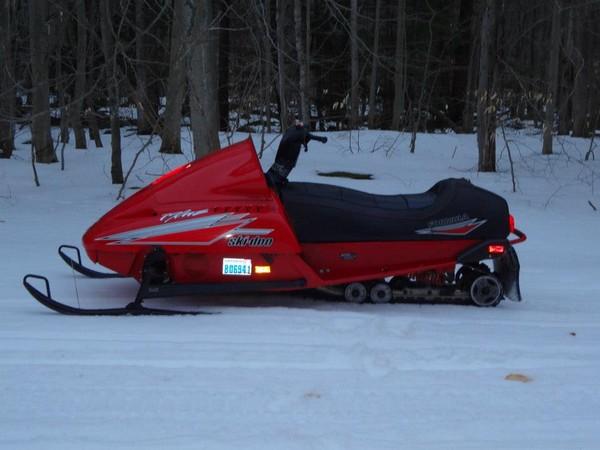 Фотогалерея Накладки на лыжи для снегохода фото 1