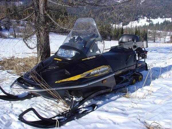 Фотогалерея Накладки на лыжи для снегохода фото 2