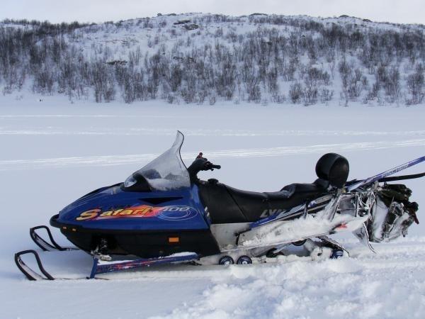 Фотогалерея Накладки на лыжи для снегохода фото 3