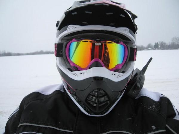 Фотогалерея очки для снегохода - фото 1