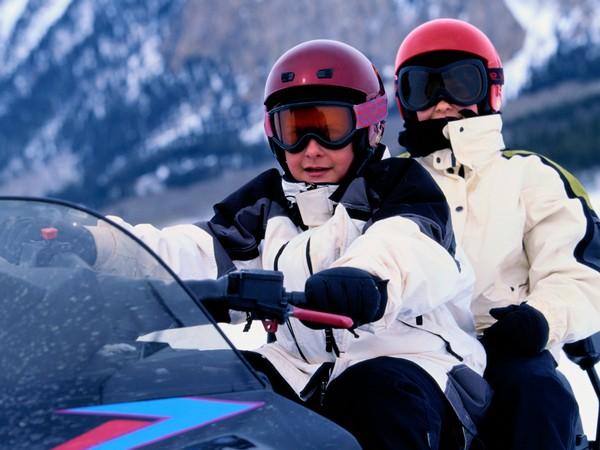 Фотогалерея очки для снегохода - фото 2