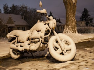Подготавливаем мотоцикл к зиме