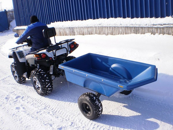 Фотогалерея прицепов для снегоходов фото - 8