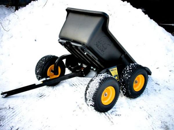 Фотогалерея прицепов для снегоходов фото - 10