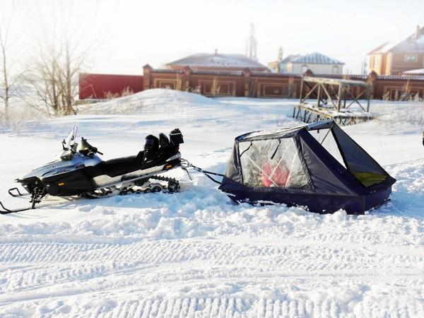 Фотогалерея прицепов для снегоходов фото - 11