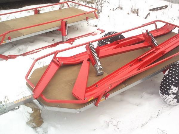 Фотогалерея прицепов для снегоходов фото - 5