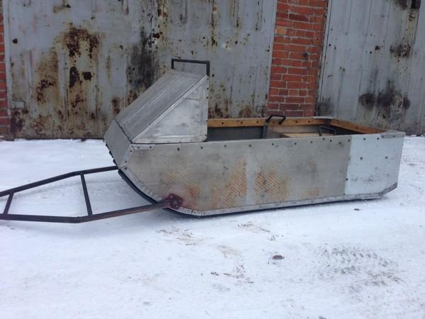 Фотогалерея сани волокуши для снегохода - фото 8