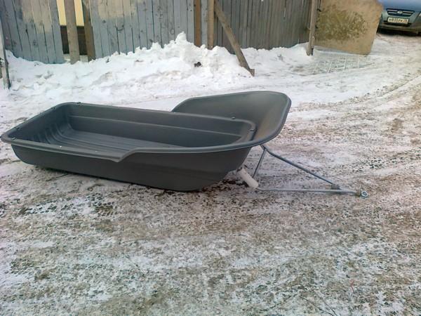 Фотогалерея сани волокуши для снегохода - фото 9