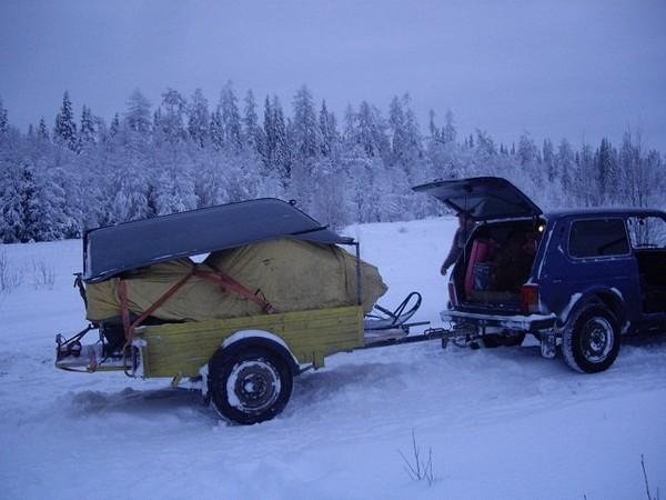 Фотогалерея сани волокуши для снегохода - фото 10