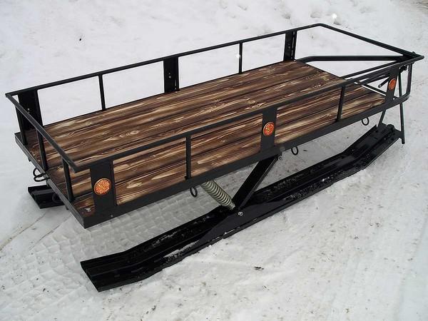 Фотогалерея сани волокуши для снегохода - фото 11