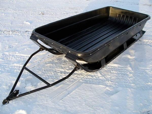 Фотогалерея сани волокуши для снегохода - фото 12