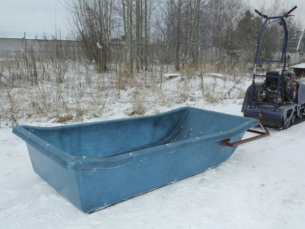 Фотогалерея сани волокуши для снегохода - фото 13