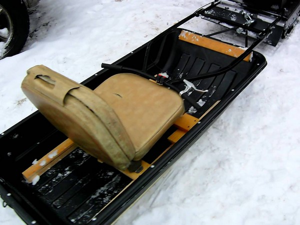 Фотогалерея сани волокуши для снегохода - фото 14