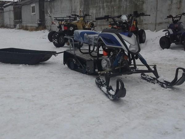 Фотогалерея сани волокуши для снегохода - фото 6