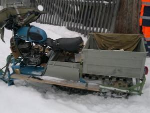 Снегоходы на базе «Минск»