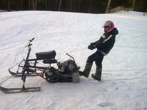 Фотогалерея Снегоходы из мотоциклов - фото 4