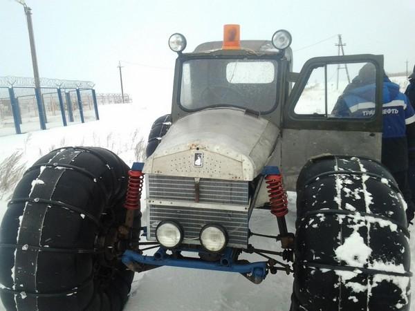 Фотогалерея Снегоходы из мотоциклов - фото 7