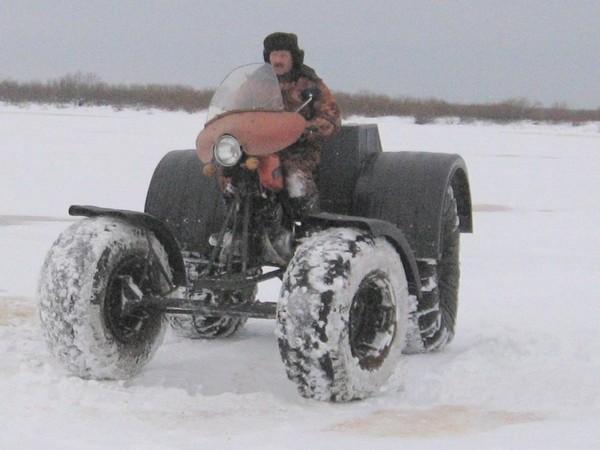 Фотогалерея Снегоходы из мотоциклов - фото 8