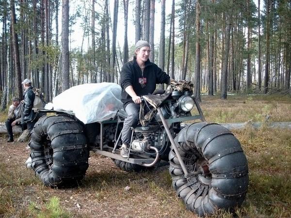 Фотогалерея Снегоходы из мотоциклов - фото 11