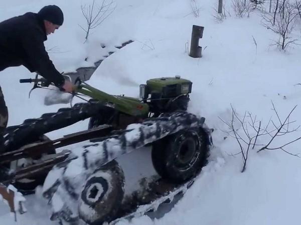 Фотогалерея Снегоходы из мотоциклов - фото 12