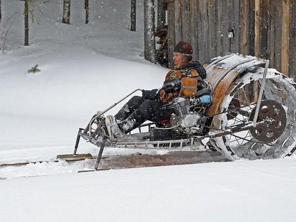 Фотогалерея Снегоходы из мотоциклов - фото 13