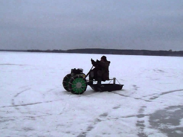 Фотогалерея Снегоходы из мотоциклов - фото 14
