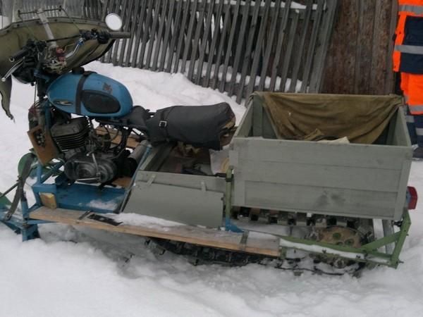 Фотогалерея Снегоходы из мотоциклов - фото 16