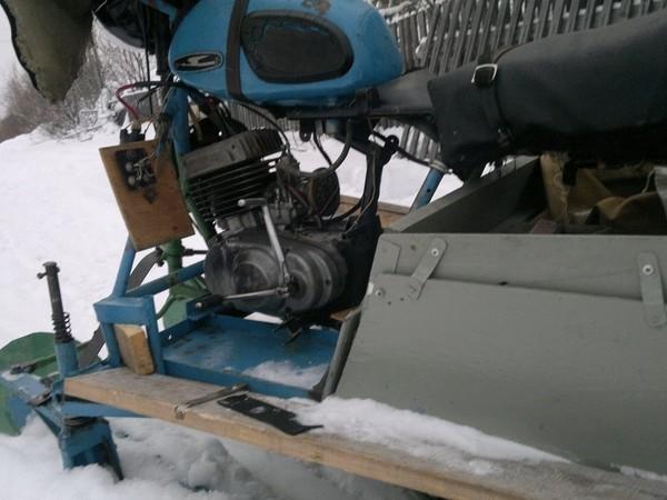 Фотогалерея Снегоходы из мотоциклов - фото 17