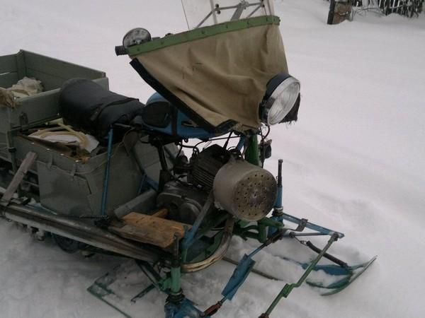 Фотогалерея Снегоходы из мотоциклов - фото 18