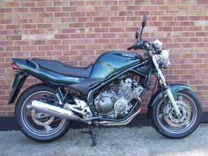 Мотоцикла Yamaha Diversiya 600