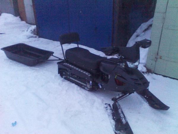 Фотогалерея снегоход Бурлак фото - 3