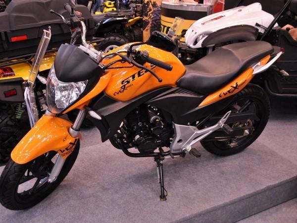 Фотогалерея обзор дорожного мотоцикла Stels Flex 250 фото - 2