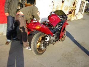 Сел АКБ на мотоцикде