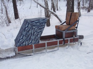 Характеристика нарт для снегохода