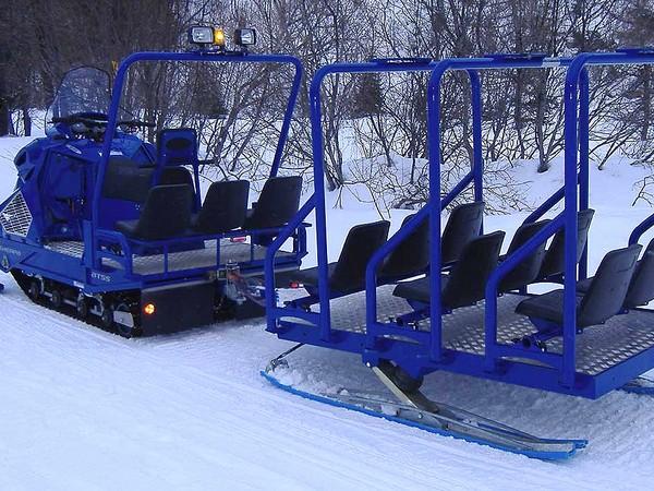 Фотогалерея нарты для снегохода фото - 3
