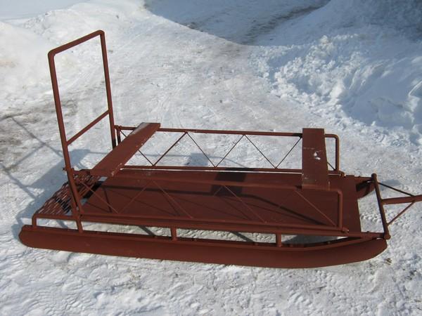 Фотогалерея нарты для снегохода фото - 4