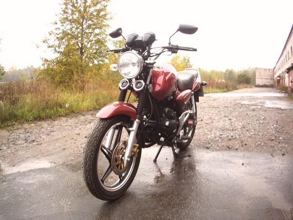 Фотогалерея Двухсот кубовые мотоциклы от компании Stels фото - 1