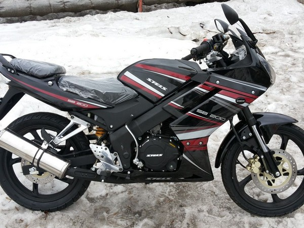 Фотогалерея Двухсот кубовые мотоциклы от компании Stels фото - 3