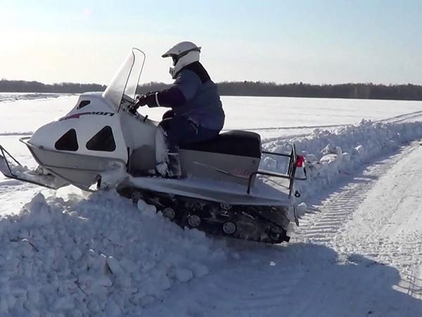 Фотогалерея русские снегоходы МВП 500 и 800 фото - 8