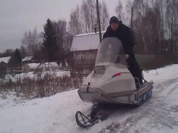 Фотогалерея русские снегоходы МВП 500 и 800 фото - 9