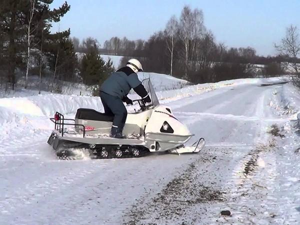 Фотогалерея русские снегоходы МВП 500 и 800 фото - 10
