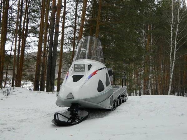 Фотогалерея русские снегоходы МВП 500 и 800 фото - 5