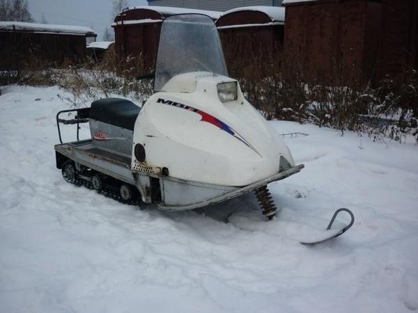 Фотогалерея русские снегоходы МВП 500 и 800 фото - 6