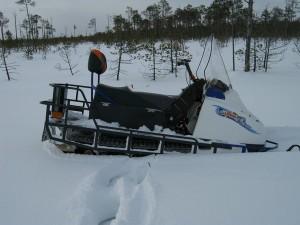 Обзор 2-гусеничного снегохода «Шихан»